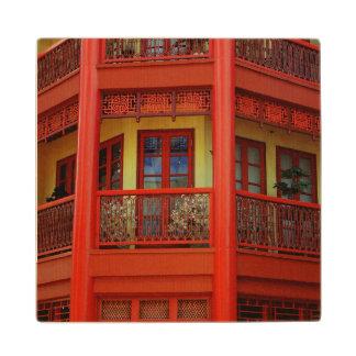 China Town Wood Coaster