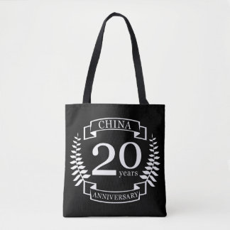 China Traditional wedding anniversary 20 years Tote Bag