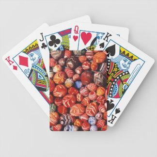 China, tumbas de Ming, recuerdos de cristal Baraja Cartas De Poker