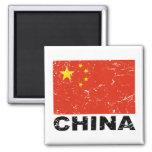 China Vintage Flag Magnets