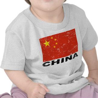 China Vintage Flag Tees