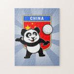 China Volleyball Panda Puzzles