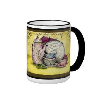 China Wedding Anniversary: Jupigio-Artwork.com Ringer Coffee Mug