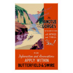 China Yangtsze Gorges Poster