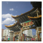 CHINA, Yunnan Province, Kunming. Memorial Arch Large Square Tile