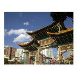 CHINA, Yunnan Province, Kunming. Memorial Arch Postcard