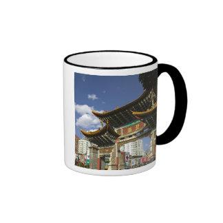 CHINA, Yunnan Province, Kunming. Memorial Arch Ringer Mug
