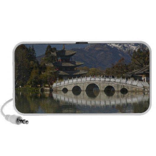 CHINA, Yunnan Province, Lijiang. Lijiang Old Mp3 Speaker