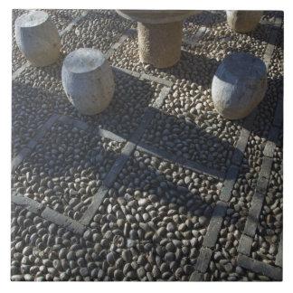 CHINA, Yunnan Province, Lijiang. Old Town, Stone Ceramic Tile