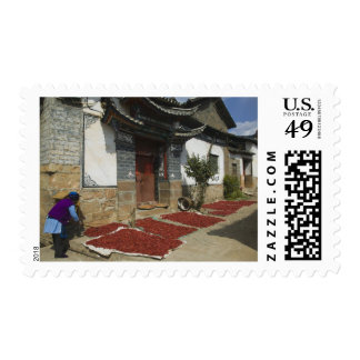 CHINA, Yunnan Province, Tianshengying. Drying Stamp