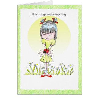 ChinaGirl Notecard