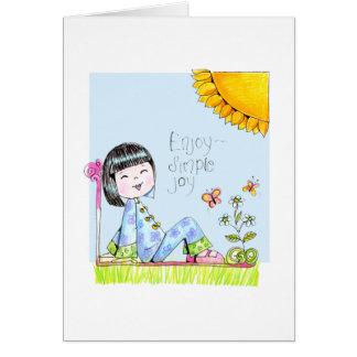 ChinaGirlLove Birthday card