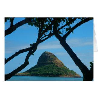 Chinaman's Hat, Oahu Card