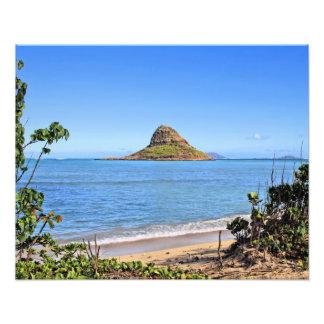Chinamans Hat -Oahu Photograph