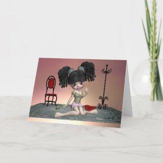 China's Closet Sweetheart Valentine - Card card