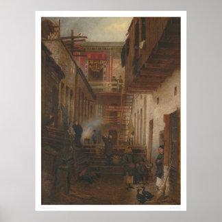 Chinatown Alley, Sing Yuen Washing & Ironing(1228) Poster