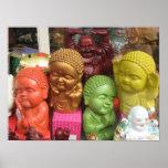 Chinatown Buddhas Póster