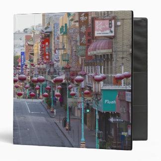"""Chinatown en la calle de Grant en San Francisco, Carpeta 1 1/2"""""""