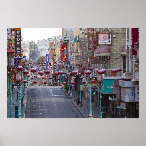 Chinatown en la calle de Grant en San Francisco, Impresiones