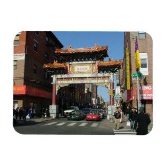 Chinatown Gate Rectangular Magnet