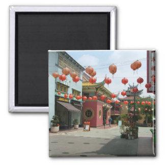 Chinatown Imán Cuadrado