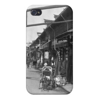 Chinatown in Shanghai, late 19th century iPhone 4/4S Cover