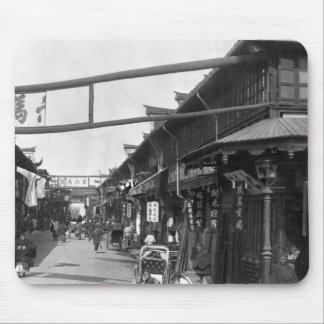 Chinatown in Shanghai, late 19th century Mouse Pad