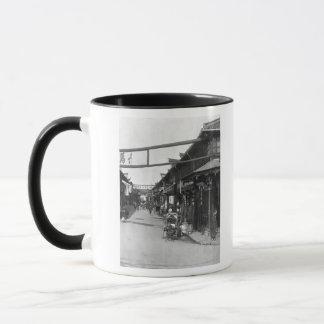 Chinatown in Shanghai, late 19th century Mug