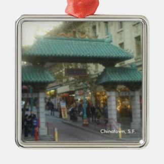 ChinaTown Metal Ornament