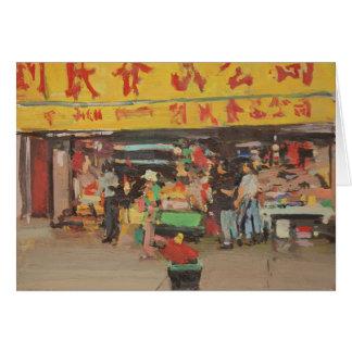 Chinatown New York 2012 Card