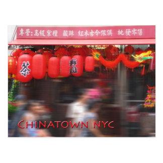 Chinatown New York City Tarjetas Postales