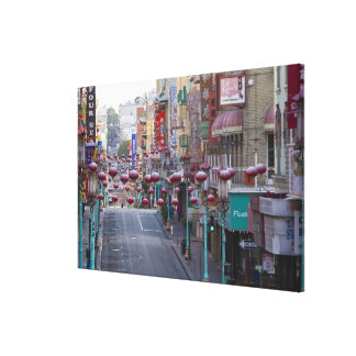 Chinatown on Grant Street in San Francisco, Canvas Print