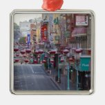 Chinatown on Grant Street in San Francisco, Metal Ornament