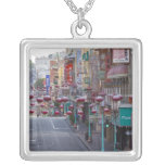 Chinatown on Grant Street in San Francisco, Square Pendant Necklace