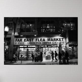 Chinatown, San Francisco, CA. Poster