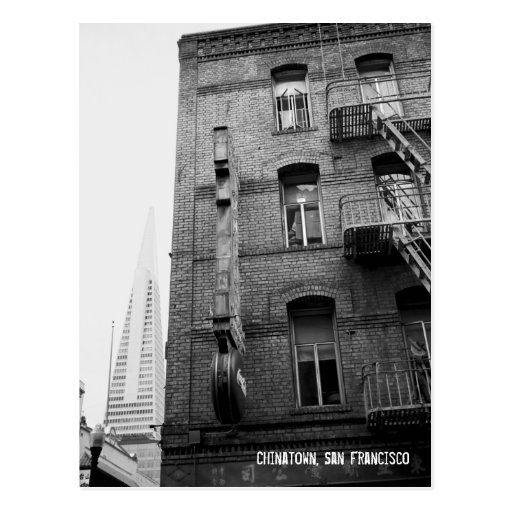 Chinatown, San Francisco Postcard