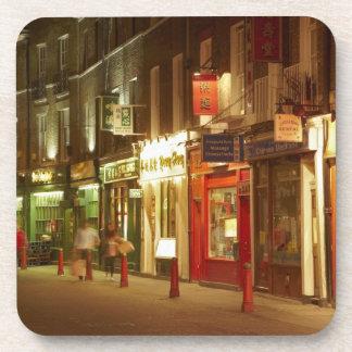 Chinatown, Soho, Londres, Inglaterra, Reino Unido Posavasos