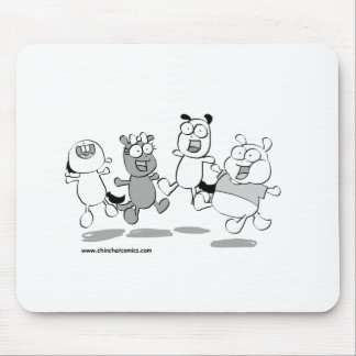 ChinChatComics All Chinchillas Mouse Pad
