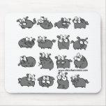 ChinChatcomics Original Rolo Mouse Pads