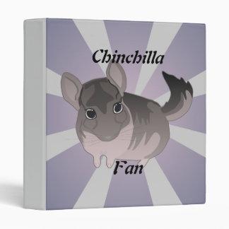 Chinchilla 3 Ring Binder