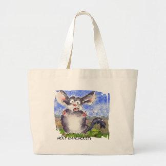 Chinchilla Cartoon Funny Tote Bag