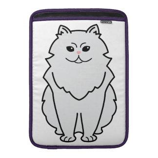 Chinchilla Cat Cartoon Sleeve For MacBook Air