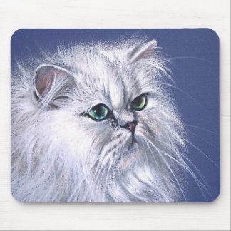 Chinchilla Cat Mouse Pad