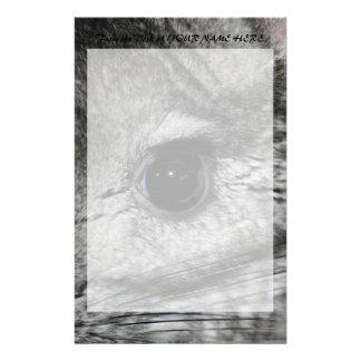 chinchilla eye close up stationery