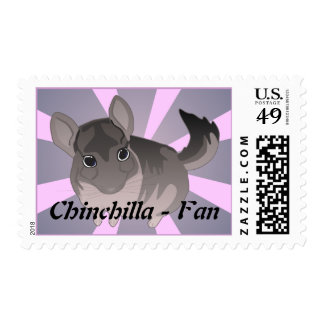 Chinchilla Fan Postage stamps