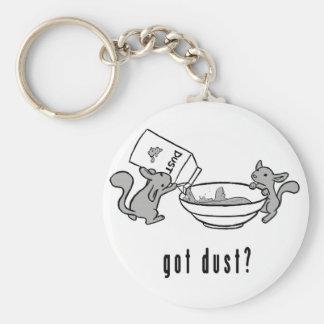 Chinchilla got dust keychain