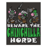 Chinchilla Horde Poster
