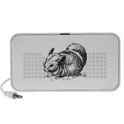 Chinchilla iPhone Speaker