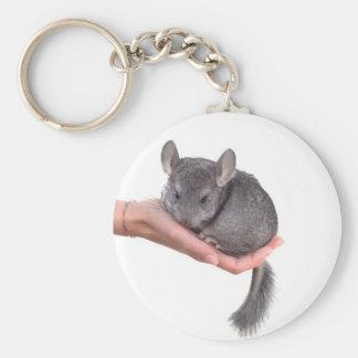 chinchilla keychain