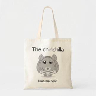 Chinchilla Likes Me Best Bag